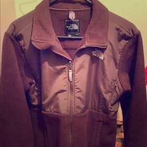 Brown Northface Fleece